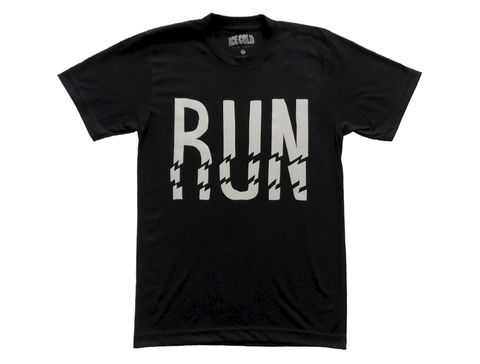 Ice,Cold,Run,T-Shirt,-,Reflective,Ice Cold, RGYC, Renown, 3M, New York, Run, Bike, Cycling, fixed gear, reflective