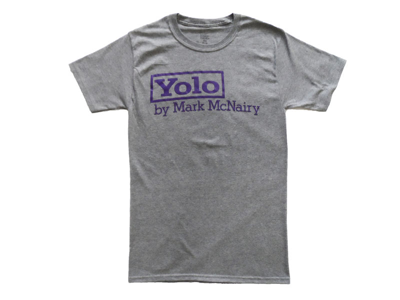 Mark McNairy YOLO Tee - Grey - product image