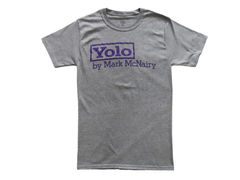 Mark McNairy YOLO Tee - Grey - product images 1 of 2
