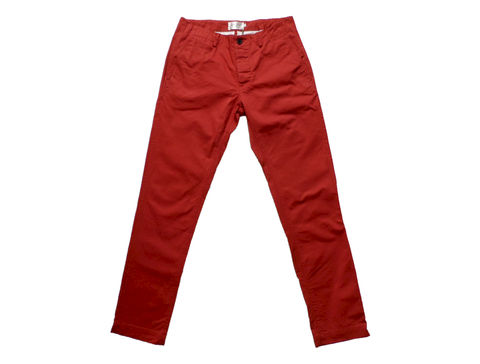 Shades,of,Grey,Slim,Fit,Flat,Front,Chino,-,Rust,Twill,shades of grey, slim fit flat front chino, rust, chino, pants, twill