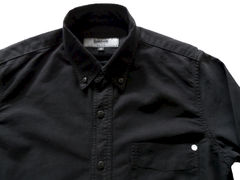 Baldwin - William Button Down Shirt- Black - product images 3 of 3