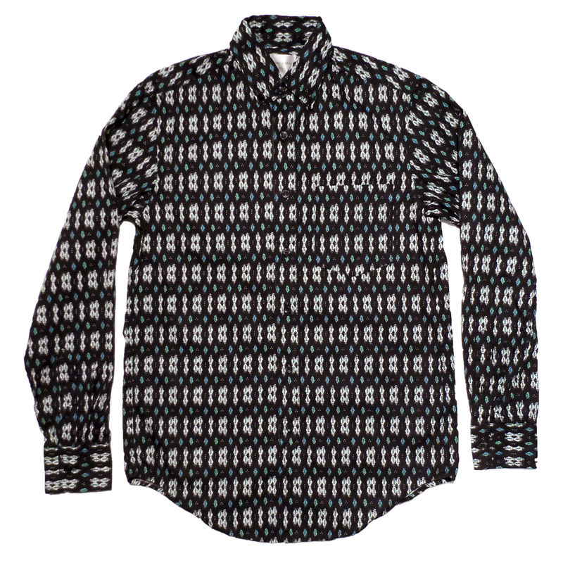 Shades of Grey L/S Navy Ikat Button Down - product image
