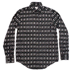 Shades of Grey L/S Navy Ikat Button Down - product images 1 of 2