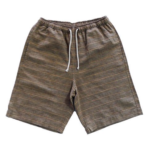 Jed,&,Marne,Shorts,Long,-,Beachwood,hand woven, hand dyed, loom, shorts, beach, summer, jed and marne, jed & marne, beachwood