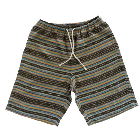 Jed,&,Marne,Shorts,Long,-,Moraga,hand woven, hand dyed, loom, shorts, beach, summer, jed and marne, jed & marne, moraga