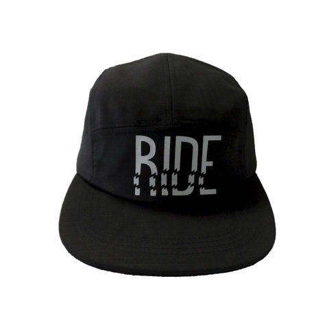 ICNY,Ride,5,Panel,Cap, 3m, scotchlite, ripstop, ride, reflective, gear, skateboarding, fixie, 5 panel, cap, hat