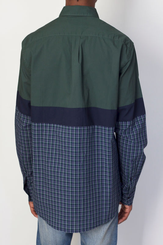 Shades of Grey L/S Colorblock Plaid - product image