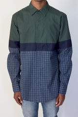 Shades of Grey L/S Colorblock Plaid - product images 1 of 2