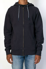 Vanishing Elephant Panelled Zip Hoodie - product images 1 of 2