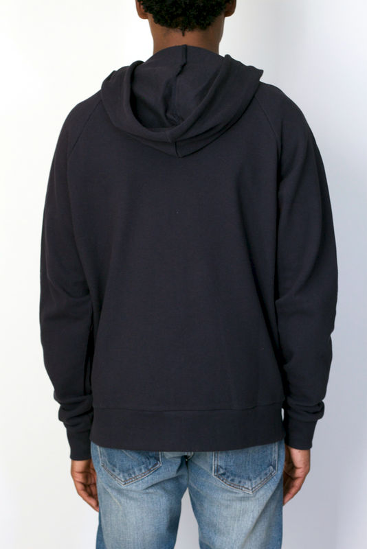 Vanishing Elephant Panelled Zip Hoodie - product image