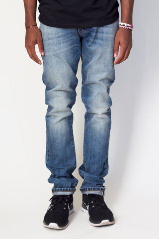 Baldwin,Denim,The,Henley,-,Gregory,Selvage, denim, selvage, selvedge, USA, made in the US, indigo wash, rinse, jeans