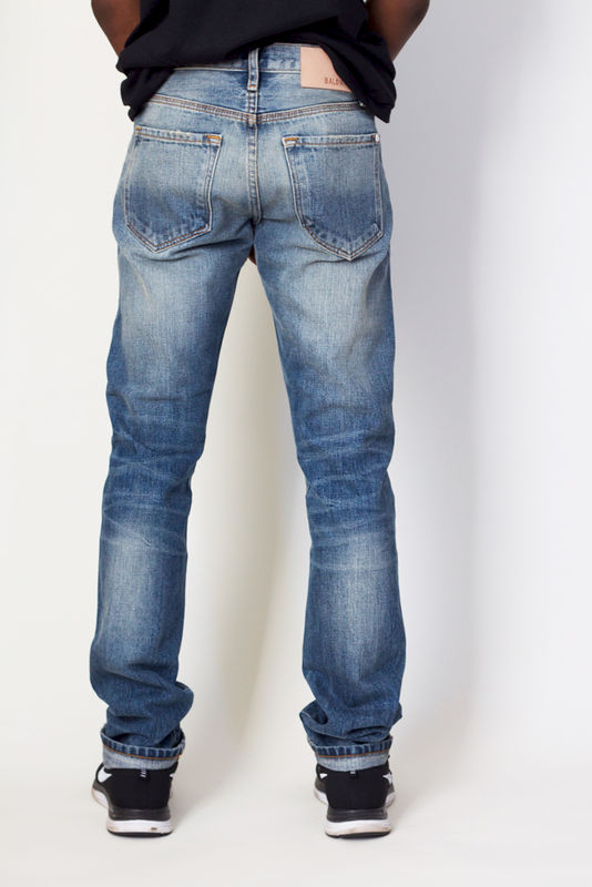 Baldwin Denim The Henley - Gregory Selvage - product image