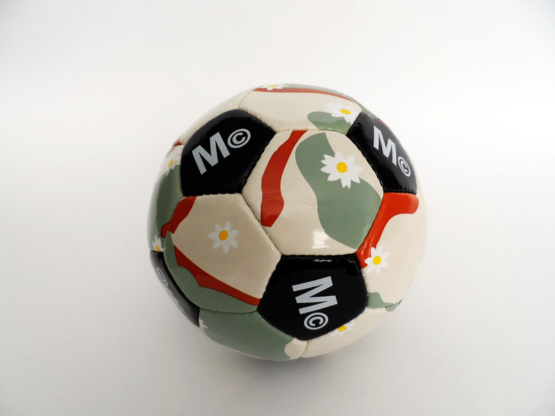 Mark McNairy Daisy Camo Soccer Ball - product image