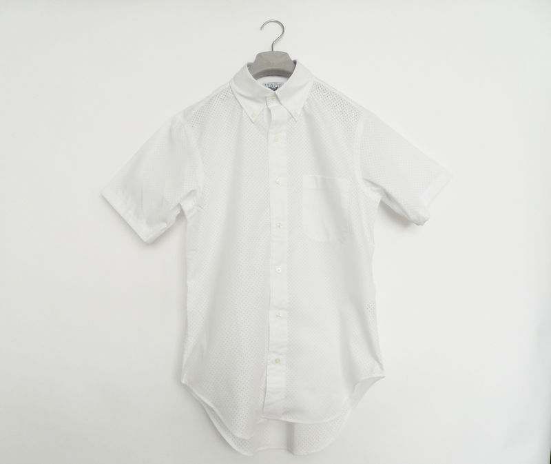 Mark McNairy New Amsterdam Perforated Shirt - product image