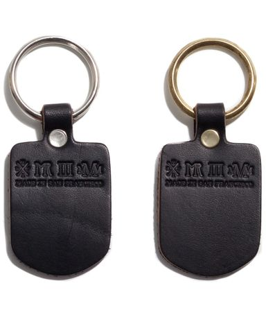 Mister,SF,Black,Key,Fob,key fob, chain, leather