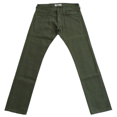 The,Reed,-,Duck,Raw,Moss,Baldwin duck raw moss, denim, The Reed, jeans, duck canvas, made in usa
