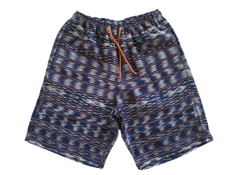 Jed,&,Marne,-,Ghost,Walk,long,shorts,hand woven, hand dyed, loom, shorts