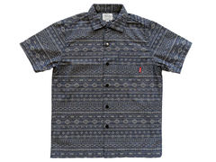 SSDD Americana Jacquard S/S Shirt - Blue - product images 1 of 4