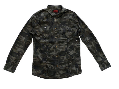 Green,Camouflage,Work,Shirt,Camo work shirt, Williamsburg Garment Company, WGC, camo