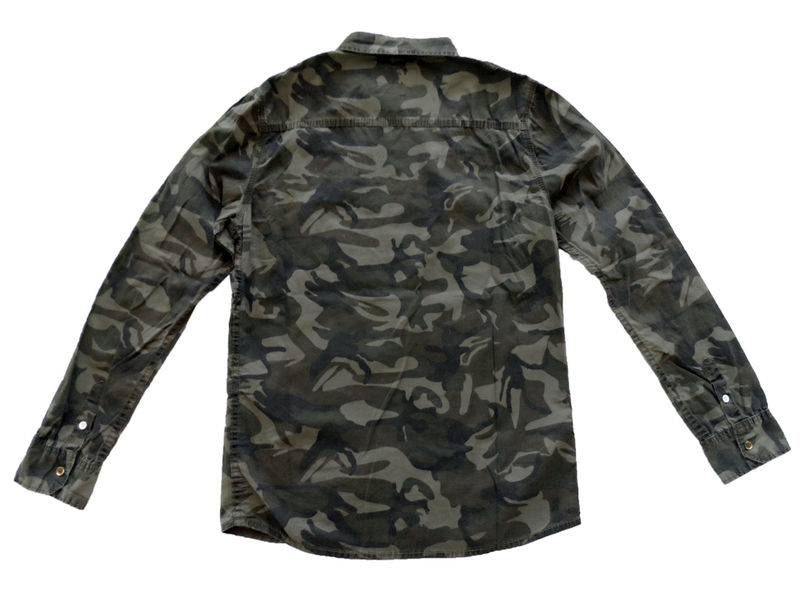 Green Camouflage Work Shirt - product image
