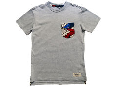 Monitaly Brown Geo Pocket Tee - Grey - product images 1 of 4