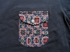 Monitaly Navy Komon Pocket Tee - product images 2 of 3