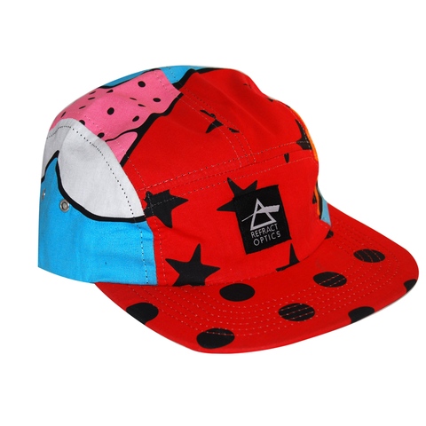70%,OFF,Ltd,Ed.,Refract,Optics,5,Panel,Cap,-,Cartoon,Refract Optics 5 Panel Cap -Cartoon