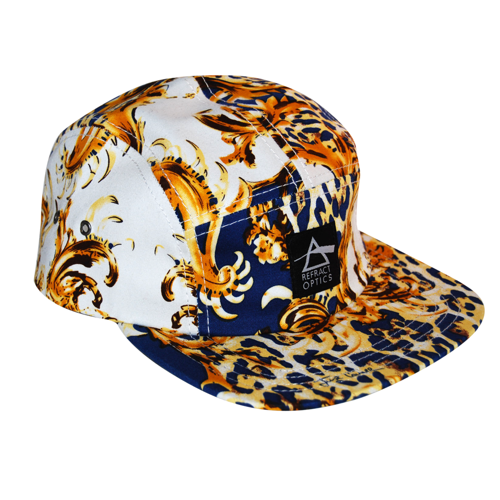 70% OFF Ltd Ed. Refract Optics 5 Panel Cap - JUST CAVALLI PRINT - product image