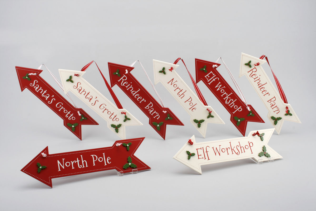 70% OFF Christmas Arrow Sign by Container Group - The Distinguished