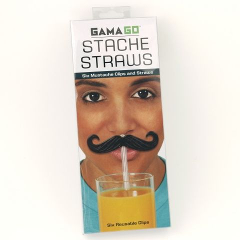 Stache,Straws,by,Gama-Go,Stache Straws by Gama-Go