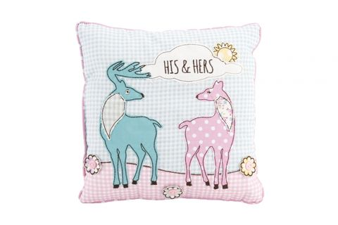 70%,OFF,His/Her,Stag,Cushion, OFF His/Her Stag Cushion