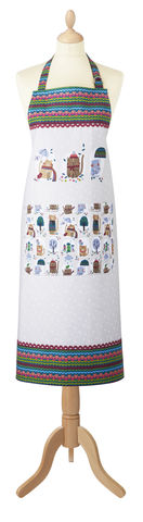 50%,OFF,Cosy,Cat,Cotton,Apron,by,Ulster,Weavers,Cosy Cat Cotton Apron by Ulster Weavers