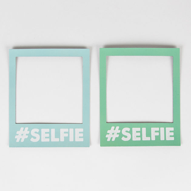 Selfie Magnetic Polaroid Photo Frame BLUE or MINT GREEN by Sass ...