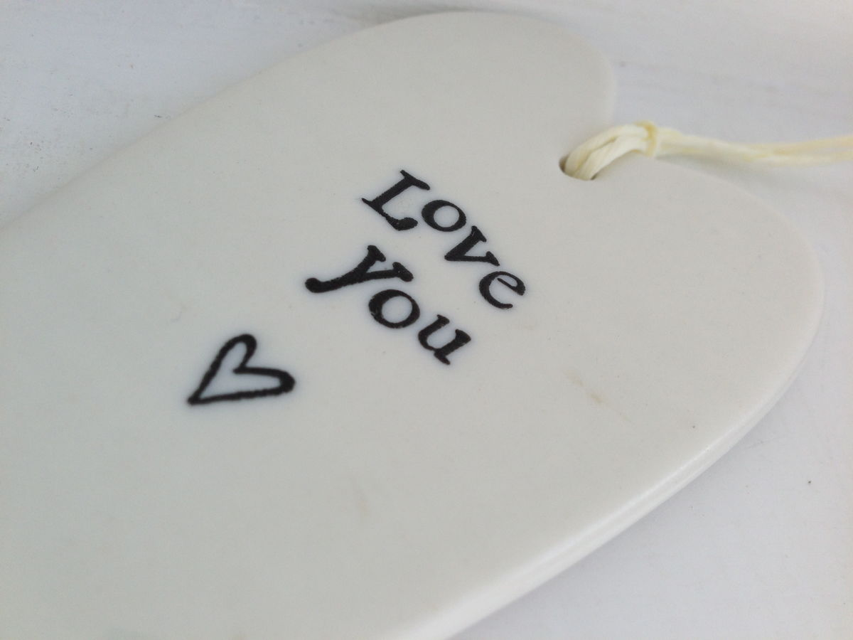 Long Porcelain Heart by East Of India - product images  of