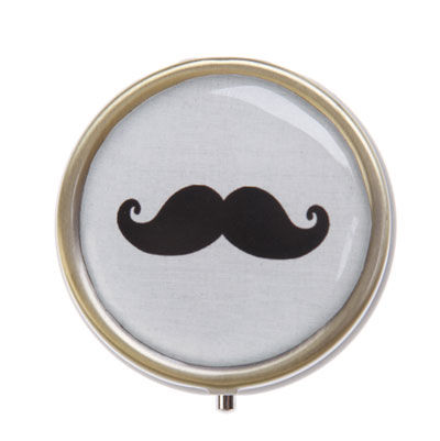 50%,OFF,Moustache,Pill,Box,by,Sass,&,Belle,50% OFF Moustache Pill Box by Sass & Belle