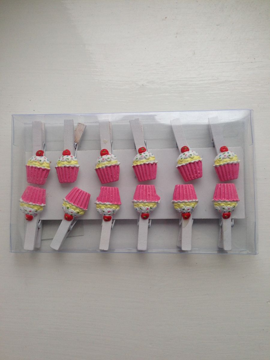 70% OFF Cute cupcake Pegs by Container Group - product images  of