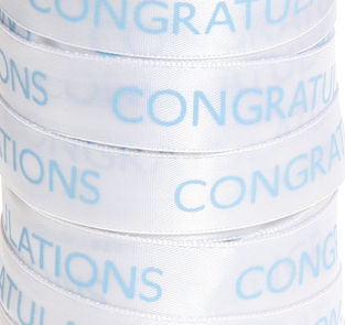 70% OFF Congratulations 3 metre spool  - product images  of