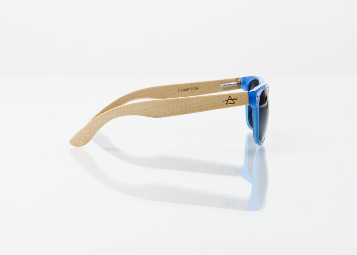 50% OFF REFRACTOPTICS® COMPTON: COBALT BLUE Acetate/Bamboo - product images  of