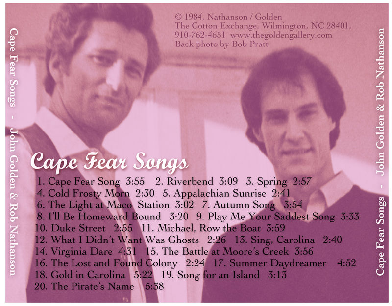 Cape Fear Songs CD - product images  of
