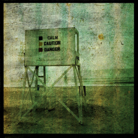 Beach,Photograph,-,Calm,Caution,Danger,8,in,x,Altered,Art,Photography,Surreal,digital,lifeguard_stand,texture,blue,beach_photograph,dark_and_moody,paper,ink