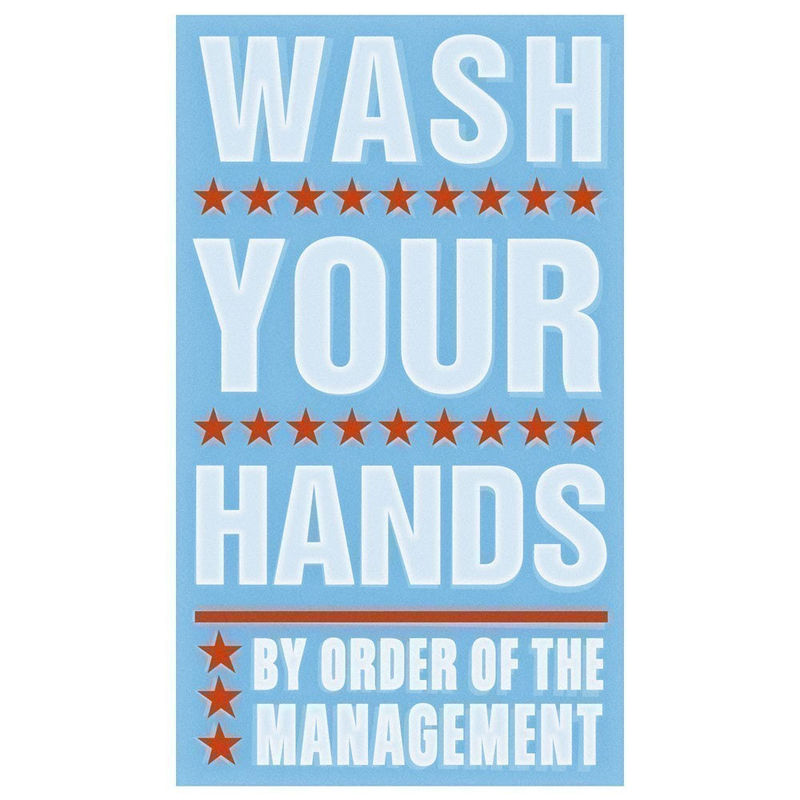 Kids Art - Wash Your Hands Print 6 in x 10 in - product images