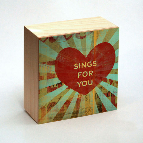 Heart,Art,-,Sings,for,You,Box,4,in,x,Valentines,Day,Illustration,Digital,reproduction,wood,block,heart,love,valentine,valentine_men,valentine_women,valentines_day,valentine_decor,heart_art,sings_for_you,paper,ink,glue,sealer,valentine gift,gift for valentine,great gifts, valentines gift,valentines