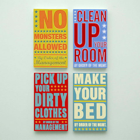 Kids,Room,Art,-,Bedroom,Set,By,Order,of,the,Management,Word,Blocks,4,in,x,7,Illustration,Digital,parents,john_w_golden,illustration,digital,print,block,word_art,kids_room_art,paper,computer