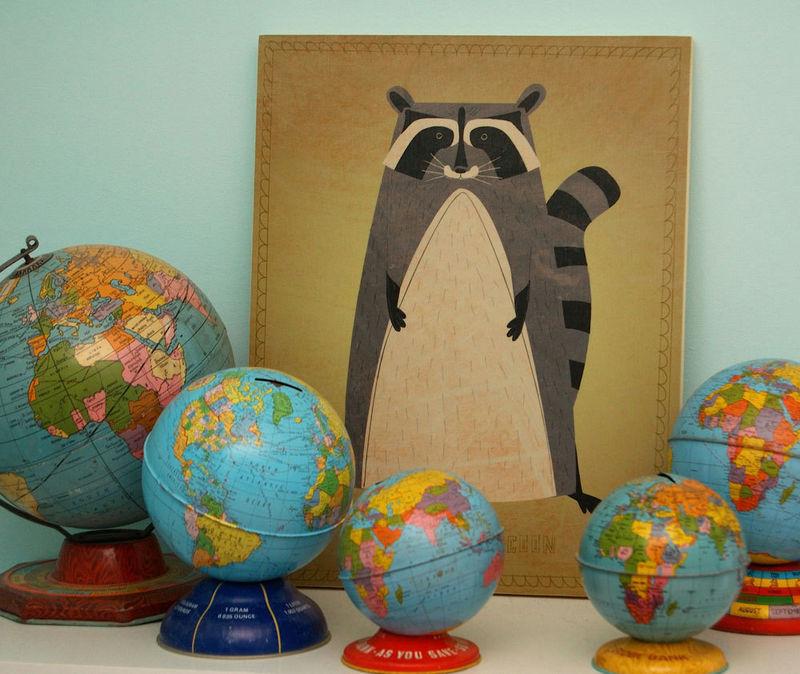 Wall Art Nursery - Woodland Critter Series Art Block - Pick the ...