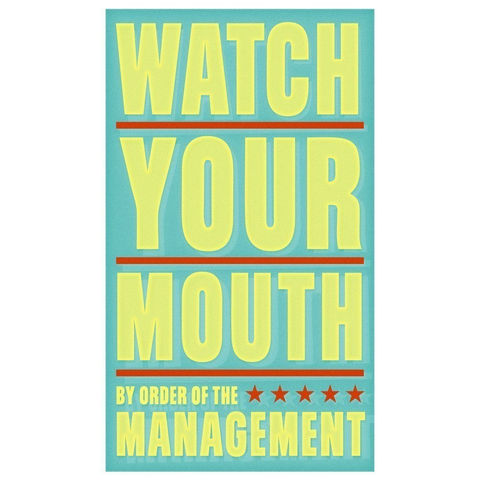 Watch,Your,Mouth,Print,6,in,x,10,Children,Art,art,illustration,print,digital,parental,john_w_golden,yellow,watch,mouth,green,red,paper,computer