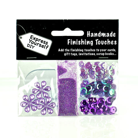 Lilac,Diamond,Stars,,Sequins,&,Glitter,Craft, Sequins, Lilac, Gliitter, Stars, Finishing Touches
