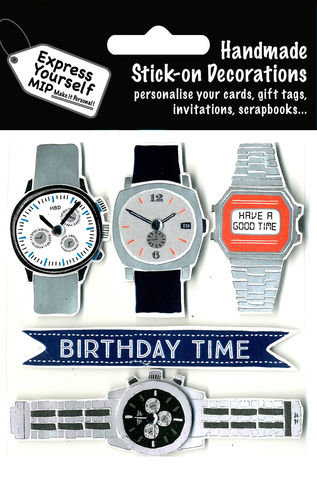 Watches,Craft, Watches, Birthday Time, Topper
