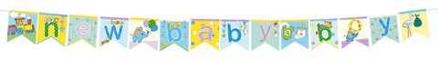 Bunting,-,New,Baby,Boy,Craft, DIY, MIP, Make It Personal, Card Making, Personalised, Scrapbooks, Bunting, Baby Boy, Blue, Letters, Icons