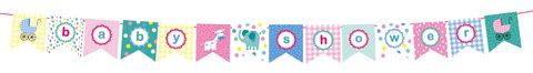 Bunting,-,Baby,Shower,Craft, DIY, MIP, Make It Personal, Card Making, Personalised, Scrapbooks, Bunting, Baby Shower, Letters, Icons