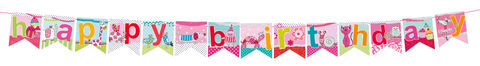 Bunting,-,Juvenile,Girl,Birthday,(HAPPY,BIRTHDAY),Craft, DIY, MIP, Make It Personal, Card Making, Personalised, Scrapbooks, Bunting, Juvenile Girl Birthday, Happy Birthday, Letters, Icons